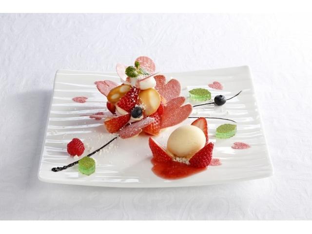 画像: 胸きゅん!資生堂パーラー 銀座本店の桜咲くデザート