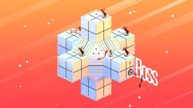 画像: この発想は素晴らしい!ルービックキューブとGO系パズルを組み合わせたような美麗パズルアプリ『Euclidean Lands』