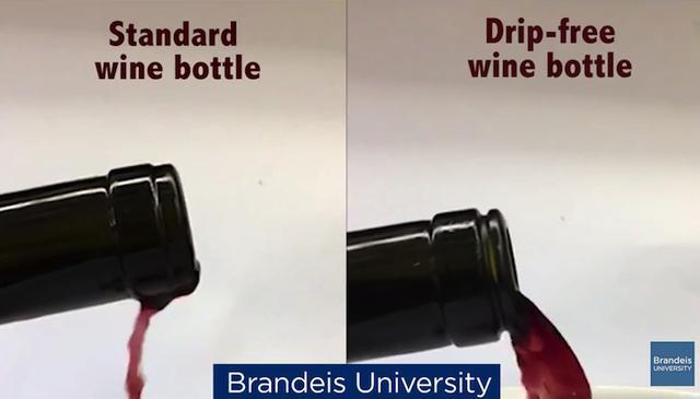 画像1: ワインを注ぐ時、瓶の口から液だれするのは煩わしいもの。レストランのソムリエは、液だれにそなえて瓶の首にナプキンを巻いておくが、日常生活でそれをするのも面倒だ。 だが、こんな液だれの悩みは近い将来なくなりそうだ。米国ブランディス大学の科学者が、液だれしないワインボトルを開発した。 ワイン好きの生物物理学者 ワインボトルの口に差し込んで液だれしないようにするグッズならすでに売られている。だが「そういうものを買う手間や出費をなくしたかった」と、開発者のダニエル・パールマン氏は言う。彼は生物物理学者であり、ワインの愛好家でもある。 彼が最初に行なったのは、注がれるワインのスローモーションビデオを、流体力学的に観察することだった。すると、注が [...] irorio.jp
