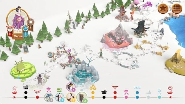 画像: 美しい江戸時代の風景が素敵♪フランス発の人気ボードゲームアプリ『TokaidoTM』がiOSで遊べるようになった!