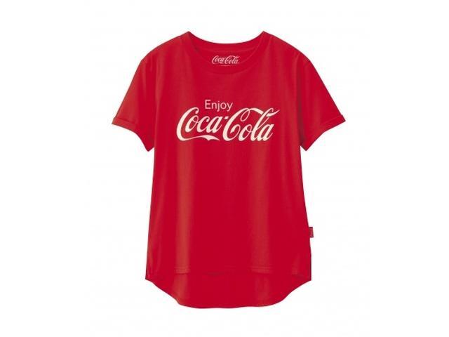 画像: コカ・コーラ×GU!懐かしのロゴがTシャツになった!!