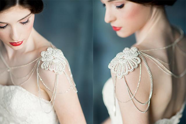 画像: 素肌にきらめく☆華やかで繊細なショルダー・ネックレスが美しすぎる