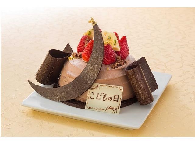 画像: 端午の節句のお祝いに兜を模したケーキはいかが?