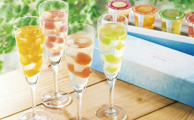 画像: ヨックモック夏のデザート☆3種のジュレ&フルーツ果肉をあわせたひんやりスイーツが新登場!