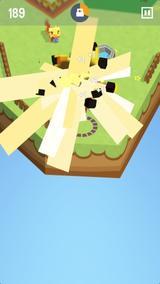 画像: ボクセルキャラが可愛い♡UFOに乗って動植物をアブダクションするゲームアプリ『Suck It Up』