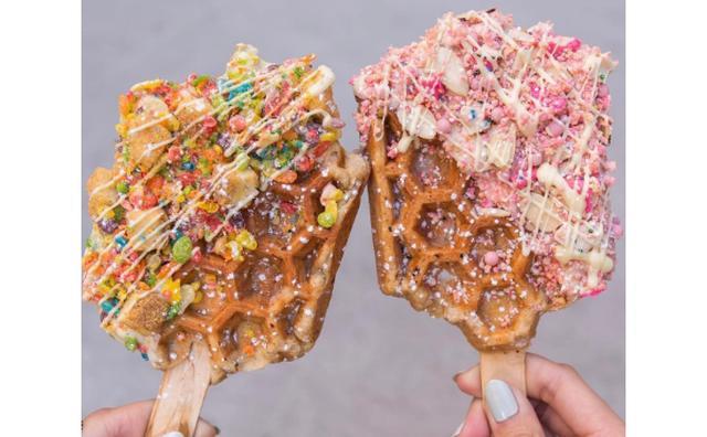 画像: こんなの美味しいに決まってる☆カリフォルニア発のニュースイーツ「ワッフルバー」
