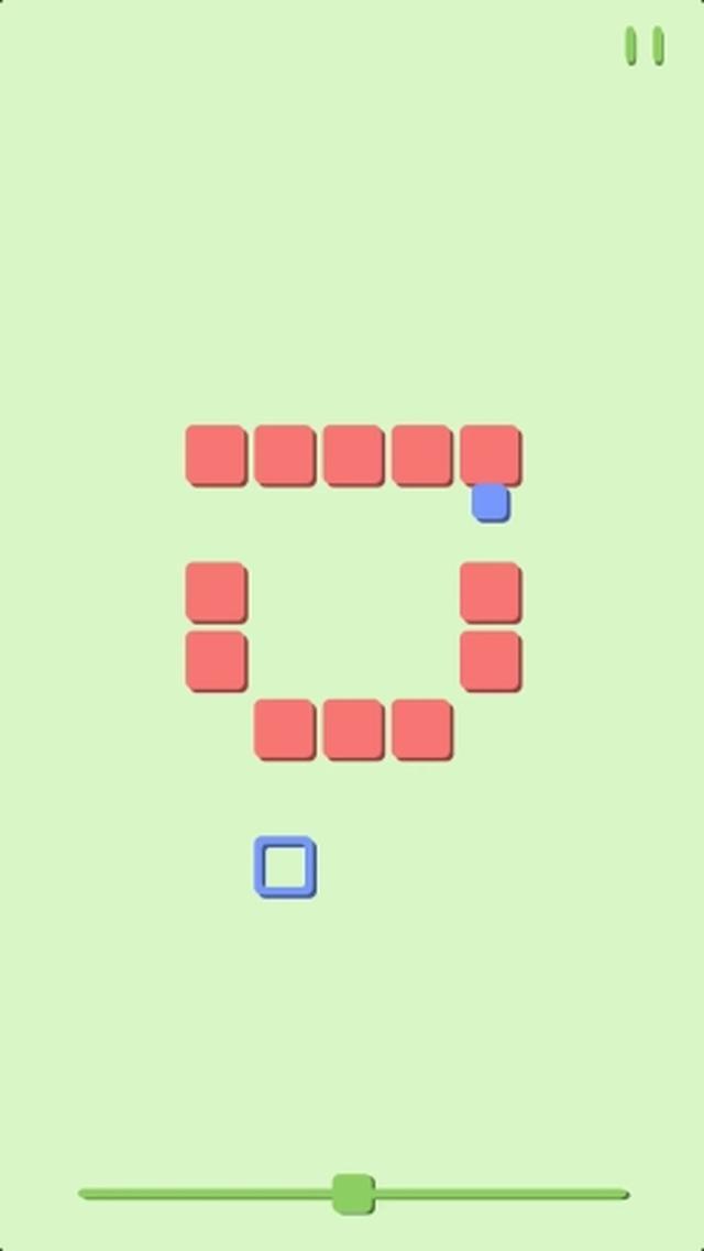 画像: ブロックの動きを読むのが難しくて楽しい♪不思議なアクションパズルアプリ『Around the Block!』