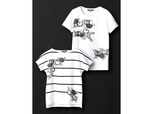 画像: 日本の伝統美を纏う!狂言装束の柄がモチーフのTシャツ