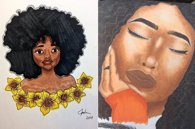 """画像1: 自分の才能に自信が持てなくなっている生徒を、現代らしいやり方で励ました先生がいる。 リツイートを呼び掛けた Kwaku Mensahさんは5月3日、こんなツイートを投稿した。 My 14 year old student doesn't think she's """"that good"""" of an artist. Run her some RTs for me to prove otherwise. pic.twitter.com/F7cfLAjhle — � (@LordSakima) 2017年5月2日 14歳の生徒が、自分の才能を「そんなにない」って言うんだ。それは [...] irorio.jp"""