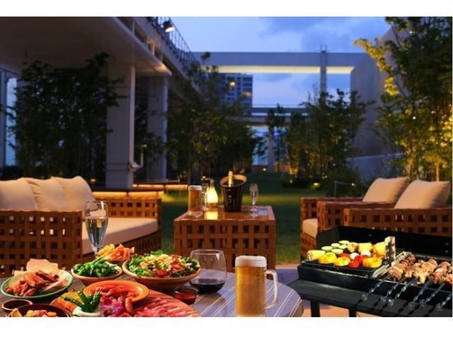 画像: アークヒルズ屋上庭園にBBQができるビアガーデンオープン