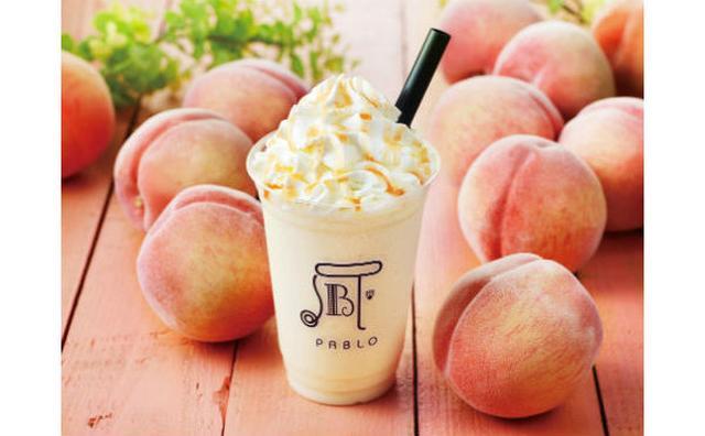画像: 旬の桃×クリームチーズ♡パブロカフェに夏限定ひんやりドリンク「ピーチフルーテ」が登場!