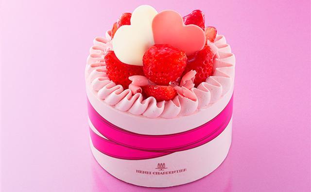 画像: カーネーションの花束を表現♡アンリ・シャルパンティエの母の日限定生ケーキが華やか!