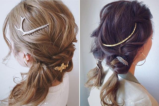 画像: まとめ髪におすすめ♡高橋愛もお気に入りのヘアジュエリーブランド「プリュイ」をチェック!