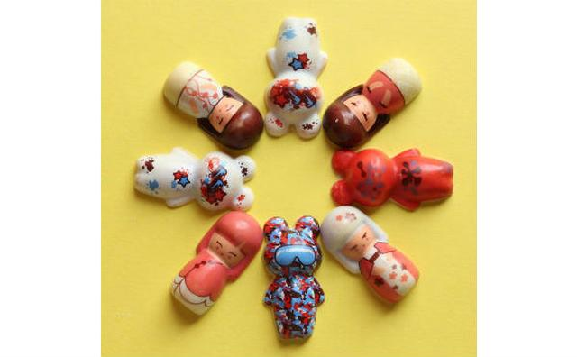 画像: 日本のこけしをイメージした「シャポン」のショコラが登場☆オンラインで先行販売スタート!