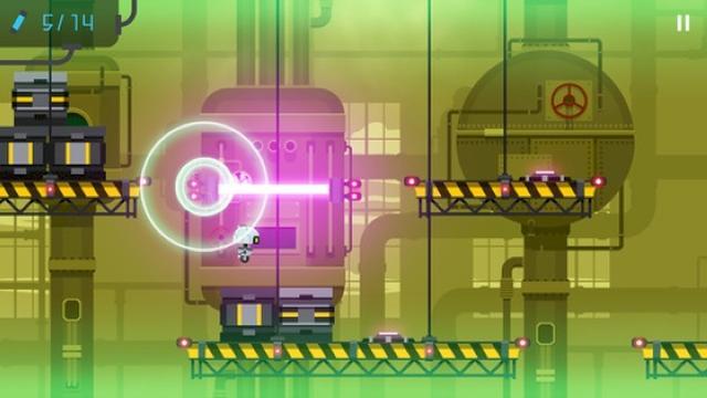 画像: キュートなロボが工場から大脱走!王道横スクロールアクションゲームアプリ『SCRAP』
