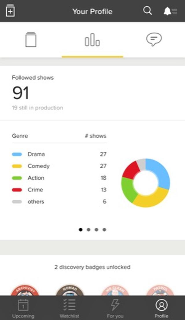 画像: 海外ドラマフリークなら入れておきたい♪ドラマの視聴管理ができるアプリ「TV TIME」