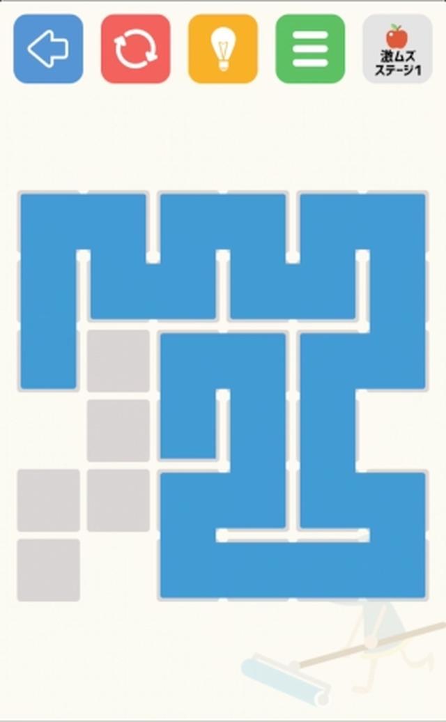 画像: 一筆書きパズル初心者にオススメ♪やさしめで素直なゲームアプリ『ぬるこびと』