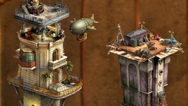 画像: クオリティ高すぎ!ジオラマ風の美麗な世界観の脱出ゲームアプリ『Dreamcage Escape: Two Towers Creek』