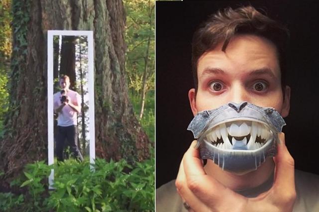 画像1: 不思議な動画を作る若手アニメーターが、Instagramでフォロワーを増やしている。 鏡の中に消える男性 彼はどんな不思議な動画をつくっているのかというと、例えばこんな動画だ。 ▼林の中に置かれた鏡 ▼鏡に向かって歩くと ▼鏡の中に入ってしまった! ▼動画全編はコチラ Kevin Parryさん(@kevinbparry)がシェアした投稿 – 2017 5月 11 6:27午前 PDT カメラの動きが自然で、本当に鏡の中に入ってしまったような感覚を味わえる不思議な動画だ。 この動画は5月11日にInstagramに投稿されると、2週間ほどで11万回以上再生されている。 ほかにも不思議な動画がたくさん ▼遠近 [...] irorio.jp
