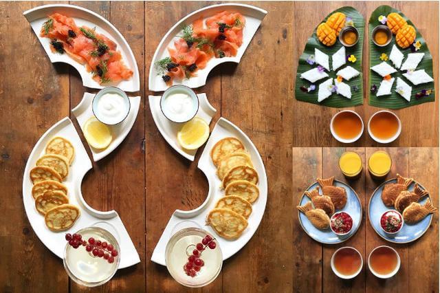 画像1: 上海在住の写真家、マイケル・ジーさんは毎朝6時に起床し、自分とパートナーのマークさん分の朝食を作っています。 その朝食がシンメトリー(対称)を意識した美しい盛り付けになっており、毎朝投稿しているインスタグラムでは一件の投稿に対し、最大約14000件ものLikes(いいね)が集まっています。 朝食を作るようになったのは、仕事の都合で朝食の時間だけが唯一、顔を合わせて一緒にいられる時間だったため。 ジーさんは料理も食べることも大好きで、様々な国の文化や歴史、ボウルの形やお皿の色などすべてにインスピレーションを感じているそうです。 朝食のレシピ本も出版される ジーさんは6時頃に起床し、出来上がった朝食を撮影してインスタグラムに投稿するのは [...] irorio.jp