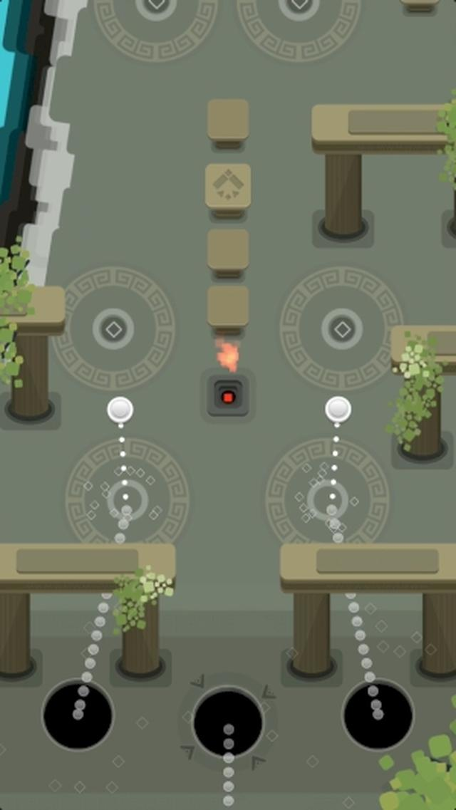 画像: 美しいステージとBGMに癒される雰囲気系アクションゲームアプリ『Glide』