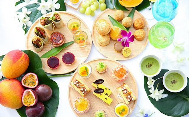 画像: トロピカルフルーツがたっぷり♪夏らしいカラフルなアフタヌーンティーでリフレッシュ!