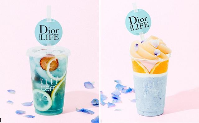 画像: 美しいブルーにウットリ♡「ディオール ライフ×ELLE cafe」のコラボメニューがフォトジェニック!