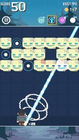 画像: 難易度高め!RPG風ブロック崩しアクションゲームアプリ『Brick Break Hero』