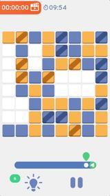 画像: 数独などのロジカルパズル好きに超おすすめ!シンプルかつハードなゲームアプリ『二色パズル』