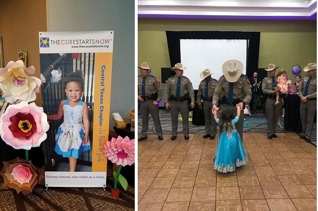 画像1: 5月20日、米テキサス州で州警察官と子のためのダンスパーティが開かれた。 その微笑ましい光景の陰にあるのは、ひとりの女の子の死と、たくましく立ち上がろうとする両親の姿だった。 DIPGで娘を失った夫妻 ダンスパーティを主催したのは、ヴィッキーさんとトロイさんのBridier夫妻。彼らは昨年の8月29日、DIPGという小児の脳腫瘍で4歳の娘ジェードちゃんを失った。 両親が症状に気づいたのは8月15日の事。旅行先のメキシコで、ジェードちゃんの目が寄っているのに気づき、どうしたのかと尋ねると、「ママが2人いる。でもいいの、大好きだから」と答えたそうだ。 8月22日にテキサス州内の病院を受診。24日にDIPGだと診断された。治療法はほとんど [...] irorio.jp