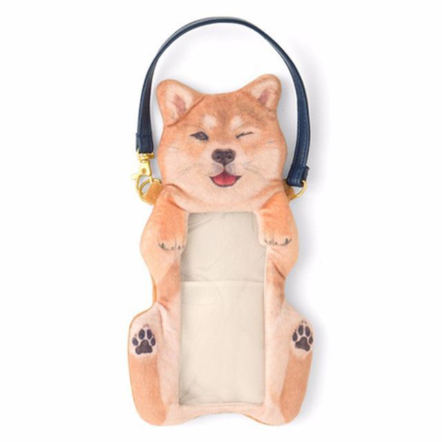画像: なでて欲しくて待機中♡ フェリシモの「柴犬のおなかなでなでポーチ」が可愛すぎて顔がゆるむ!