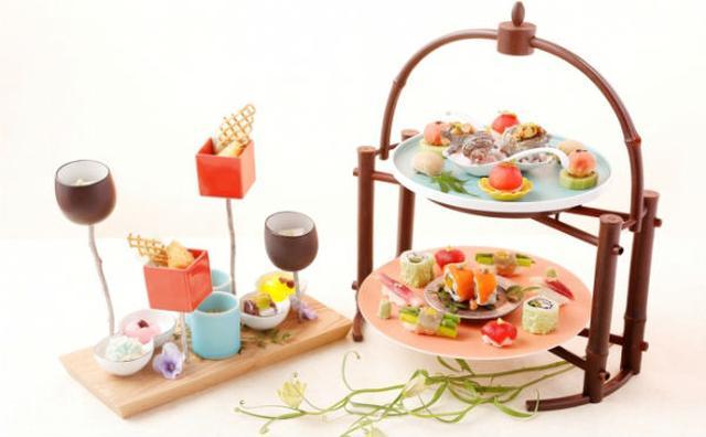 画像: アフタヌーンティーにお寿司?ザ・プリンスギャラリーの夏メニューがフォトジェニック☆
