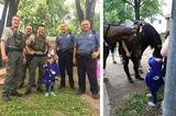 画像1: 米ミズーリ州のカンザスシティに住む、3歳のハンナ・パースリーちゃんは警察官になることを夢見る女の子。 6月3日、多くの警察官が彼女を笑顔にした。 手に入れた警察官の洋服 6月3日に憧れの警察官の洋服を買ってもらったハンナちゃん。 この洋服は、前日とその日の朝から家の前でレモネードを1杯50セント(約55円)で売ったお金で購入したもの。つまり、ハンナちゃんが自分で稼いだお金で手に入れたものだった。 「大きくなったら警察官になる」と言っているハンナちゃんは、その洋服を着て再びレモネードを売り始めた。 ハンナちゃんを喜ばせたい そんなハンナちゃんの姿を見て、「警察官が来たらきっと喜ぶに違いない」と思ったのは、ハンナちゃんのおばさんのアシュ [...] irorio.jp
