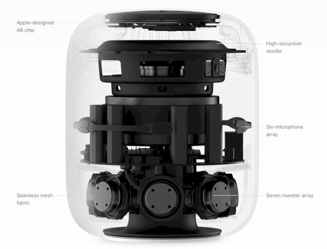 画像: Apple MusicをコントロールできるSiri搭載スマートスピーカー『HomePod』ってどんなもの?