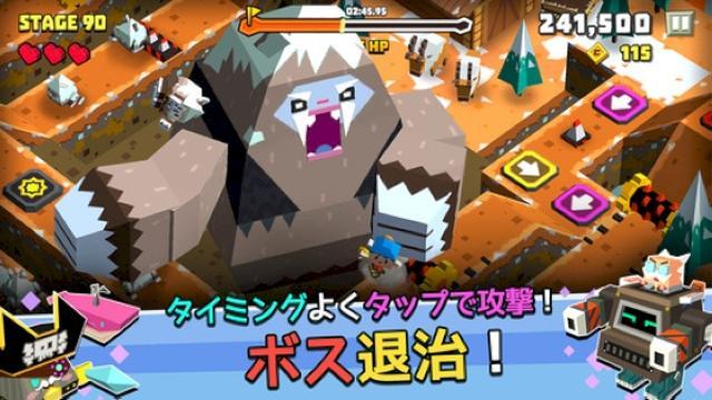 画像: スピード感がとっても爽快♡コミカルな周回アクションゲームアプリ『キュービーアドベンチャー』