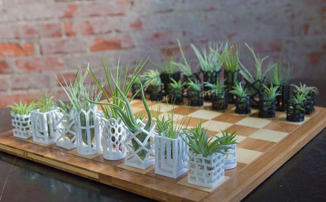 画像: お部屋がグッとオシャレになる☆インテリアにもぴったりなチェス型プランター