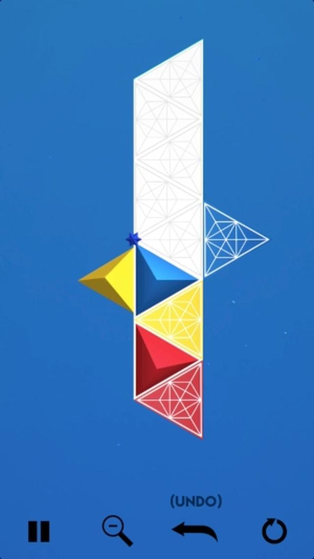 画像: 幾何学模様が美しい♡ 不思議な魅力いっぱいのパズルゲームアプリ『YANKAI'S PEAK.』