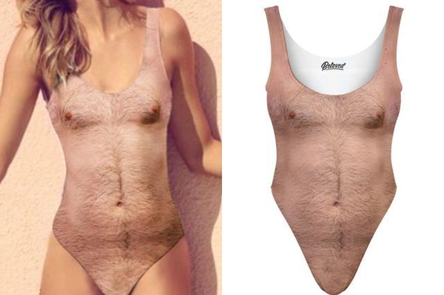 画像1: もうすぐ暑い夏がやって来る!それっ海だ!プールだ!と楽しみにしている方も多いだろう。 ちなみに今年の水着はもうお決まりだろうか?ぜひご注目いただきたい水着が登場したのでご紹介しよう。 着ればセクシー間違いなし! これを着れば、誰でもセクシーな胸を演出できる、その名も「セクシーな胸」というワンピース水着(Sexy Chest One Piece Swimsuit)である。 それがこちら。 見よ!女性たちをキュンキュンいわせる見事な胸毛とギャランドゥを! まあ、胸毛やギャランドゥがセクシーなのは男性の場合なのだが...。 これ女性用です! こちらは女性用の水着である、念のため...。男性は、ご自身の胸毛とギャランドゥで勝負していただきたい。 実 [...] irorio.jp