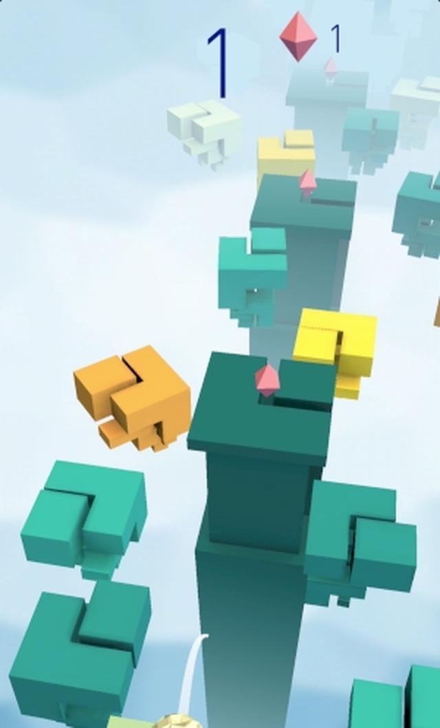 画像: センスが問われる!動き回る足場を飛び移る渋めカジュアルアクションゲームアプリ『PLATFORMS』