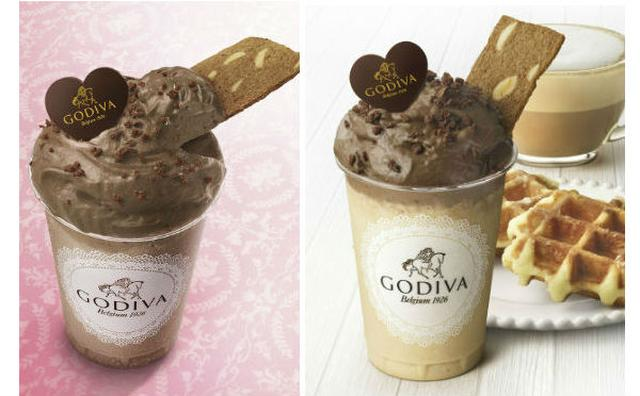 画像: ふんわりチョコムースがポイント☆ゴディバに登場した2種類の「飲むデザート」が濃厚リッチ♡