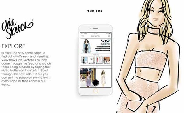 """画像: コーデ写真を""""ゆるカワ""""なイラストにできる♡ 人気イラストレーターに自分の絵を描いてもらえるアプリが便利!"""