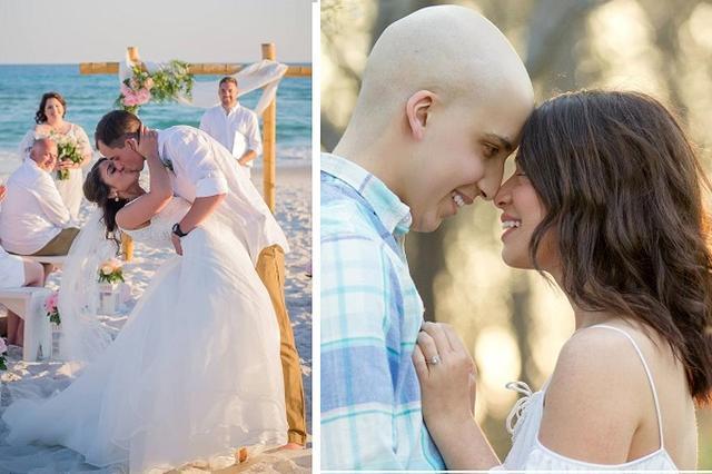 画像1: 5月14日、米フロリダ州のシークレスト・ビーチで一組のカップルが結婚式を挙げた。 お互いに23歳のふたりが出会ったのは、10歳のとき。がん患者とそのきょうだいのためのキャンプだった。 この日を迎えるまでに、骨髄移植やがんの再発、そして最愛の姉の死を、ふたりは乗り越えてきた。 3歳でがんと診断された新郎 新郎のジョーイ・レニックさんが急性リンパ性白血病(ALL)と診断されたのは3歳のとき。その後、骨髄移植により、健康を取り戻していた。 のちの新婦となるカイリーさんと出会ったのは、がん患者とそのきょうだいのためのキャンプでのこと。 カイリーさんは、がん患者だった姉のタイラーさんと共に、キャンプに参加していた。 キャンプ後もふたりは、友人 [...] irorio.jp