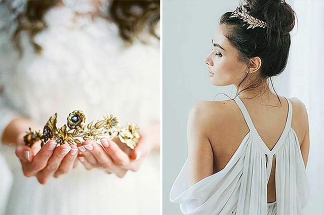 画像: プリンセスみたい♡貴重なアンティーク素材を使って作られたヘアピースがステキ