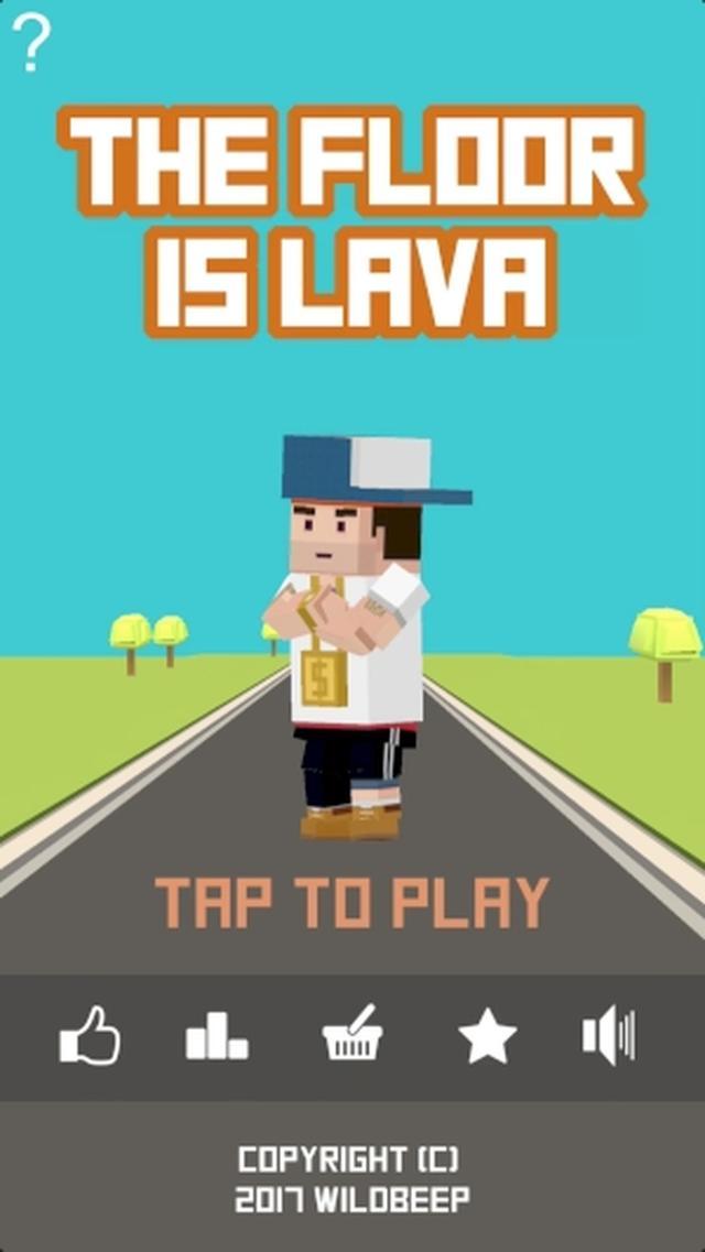 画像: 地面に落ちたらアウトね!子どもの頃の遊びを再現したゲームアプリ『The Floor is Lava !!!』が懐かしくて楽しい♪
