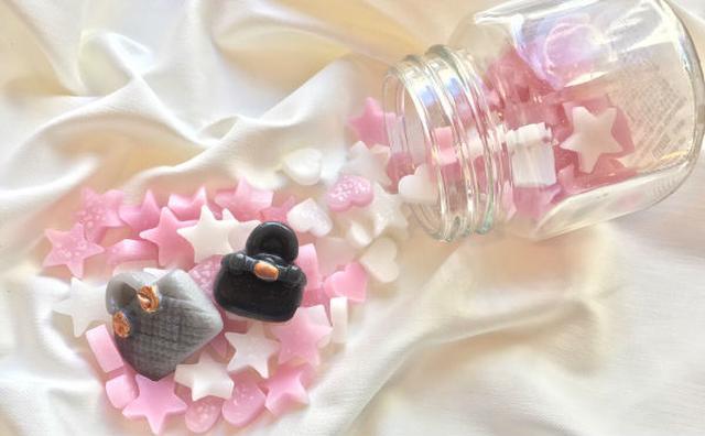 画像: まるで砂糖菓子みたい♪「SWATi」の金平糖をモチーフにしたキャンドルが大人かわいい♡