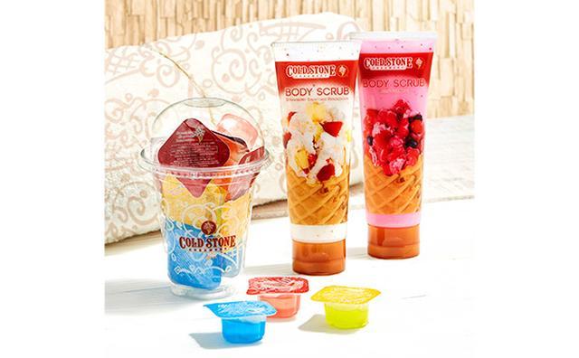 画像: アイスの甘い香りでお肌磨き♡コールドストーン初のボディケアアイテムが登場!