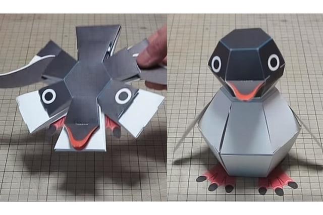 画像1: ポンッと放り投げると、立体的なペンギンになるペーパークラフトに注目が集まっています。 制作したペーパークラフト作家の中村開己(はるき)さんに取材しました。 瞬時に立体的なペンギンに! 話題の作品は「ペンギン爆弾」。 ポンッと放り投げて着地すると、ペンギンに大変身します! とあるユーザーが「ペンギン爆弾かわいすぎる...!」と動画付きでツイートしたことから、Twitterを中心に話題になっています。 どのような仕掛けで、瞬時に変形しているのでしょうか? 不思議な部分もあり、何度も遊びたくなってしまう作品です。 輪ゴムとストッパーで立体的に 中村さんは27歳の時にペーパークラフトに目覚め、2000年頃から本格的に作り始めたそうです。 ―― [...] irorio.jp