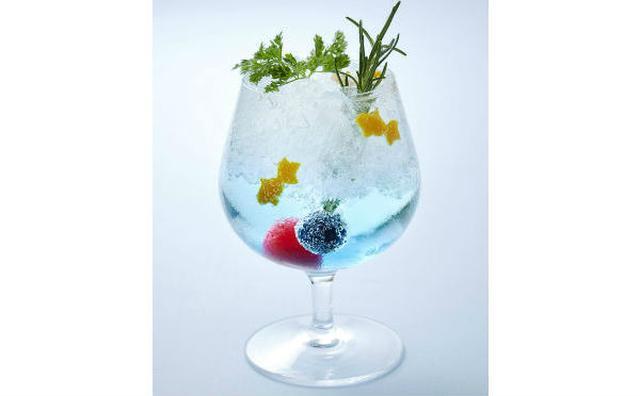 画像: 見て味わって「江戸の涼」を体感♡金魚モチーフのかき氷&カクテルがフォトジェニック☆