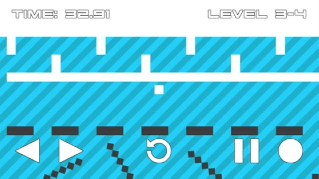 画像: 緊迫感がたまらない♪シンプルデザインのアクションパズルアプリ『Quad Maze Lite』