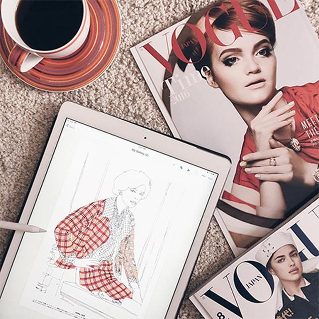 画像: iPad Proでイラストを描こう!7月5日のAppleワークショップはファッションイラストレーター・福田愛子が登場♩